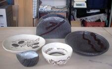 花器、皿、鉢